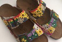 Hippy shoes sandals
