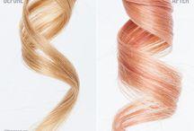 Rose gold hair inspo