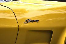 Corvette C7 Z06 / Auta, których sylwetki są prezentowane w tekstach poświęconych estetyce. / Cars which profiles are presented in articles about aesthetics.