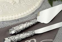 Wedding Cake Knife & Server Sets