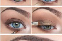 makeup eyes/face/hair