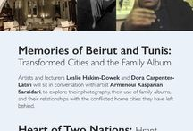 Autonomy of Self - Talks / Autonomy of Self  Talks,  Memories of Beirut and Tunis: Transformed Cities and the Family Album,  Heart of Two Nations : Hrant Dink, presented by Nouritza Mattosian,  Wednesday, 16 September 2015, 18:00 - 20:00,  RSVP: https://podio.com/webforms/13439638/910986,  We very much look forward to seeing you on the evening of the 16th.