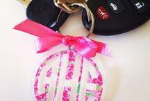 monogramed stuff / by Christy Ray Brown