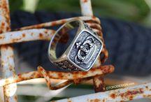 Мужские кольца / Здесь собраны все мужские кольца, которые можно приобрести в интернет-магазине OTOKODESIGN.com