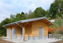 Edifici agricoli in legno