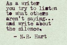 Writers Write ❥