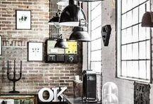 Estilo Industrial / Un toque de New York: Ideas de decoración estilo industrial