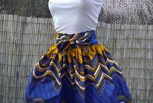 Vêtements / Robe et jupe pagne