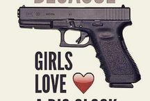 Girl's Got a Glock / Self Defense, Target Shooting