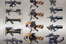 Weapons Concepts