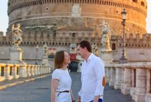 My works / Individual photo shooting and love story in Rome  All pictures copyright Svetlana Vlasenko
