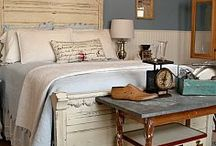 Bedroom ideas / by Heather Loftin