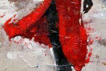 malba Déšť