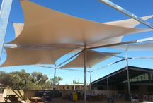 Indoor/outdoor shade system