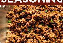 Homemade seasonings