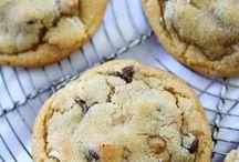 Hazelnut choc chip cookies