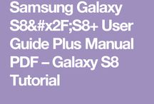 Galaxy S8 & S8* user guides