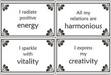 Positive Affirmations / by Lacey Weatherford
