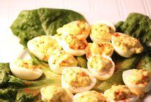 Deviled eggs / by Cheri Collins