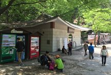 Bring It On Trail Run Rest Area & Bukhandong History Museum / 북한동역사관+음료수 자판기+화장실  Bukhandong History Museum+Vending Machine+Rest Room 북한산성탐지원센터 갈림길에서 도보탐방 및 차량통행로로 대서문 방향으로 이동 There are two roads to Bukhansanseong Park Information  Center and take the vehicle road GPS: 37.654015  126.957695 고도(Altitude): 177m