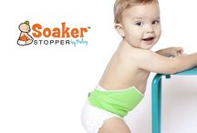 Soaker Stopper / Keep baby and bedding dry at night!