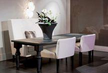 lekker zitten aan tafel bij Rupert & Rupert / tafels en stoelen van Rupert & Rupert, Feel good Luxury Living , gewoon #genieten