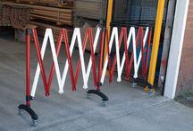 Expanding Barriers / expanding expandable portable temporary barriers