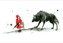 Red Riding Hood and Hansel & Gretel