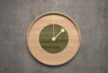 clock design / Clock design render 3dsmax wood concept design