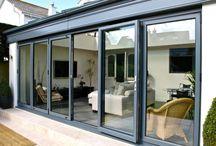 Patio Doors, French Doors, Bi-Folding Doors / We also deliver patio doors, french doors, bi-folding doors, porches and conservatories.