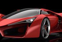 Concept of Ferrari