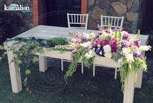 diseño de mesa para boda