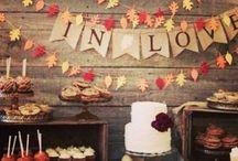 Falling in Love, A Fall Wedding
