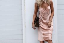 Blush Fashion Inspiration / Blush style inspiration for a pretty pastel look.