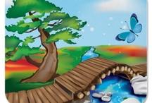 My works on Zazzle! / http://www.zazzle.com/crazycolors
