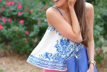 bag Blue fashion