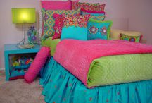 Girls Room Inspiration / Design and decorating ideas for girls room.