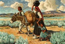 Native American / Fine Art / A selection of fine art sold at auction by, John Moran Auctioneers, Pasadena, CA