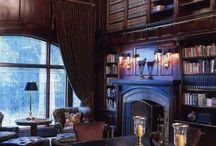 Library room ideas / by Pamela Berdou