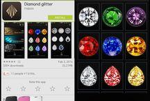 Diamond Glitter app