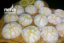 limonlu catlak kurabiye