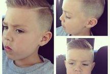 Boys' hair