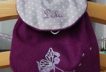 Les sacs pour enfants / Des sacs pour enfants entièrement confectionnés à la main par des mamans créatrices, du fait main sur-mesure & inspiré !