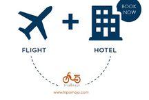 Domestic & International Air ticket Booking By Tripomojo