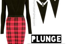 Plaid About You! / Whatever the season, whatever the trend there is always a representation of a check, plaid, tartan, gingham etc we have it all at monroeandme.com