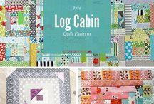 1_Patchwork_Log Cabin