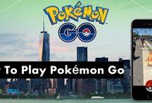 Pokémon Go / A Complete Guide on Pokémon Go games.