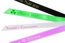 Personalized Favor Ribbons