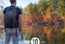 Fall Outdoor Activities / Fall is a great time to enjoy all sorts of outdoor activities before the winter cold arrives! A few ideas are included here...