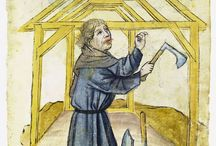 Nürnberger Hausbücher / Pictures of late 14th c, and early 15th c crafts